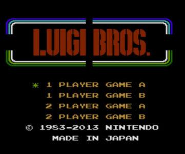 Wii U『スーパーマリオ 3Dワールド』収録の『LUIGI BROS.』、アンロック条件は『NewルイージU』のデータなど
