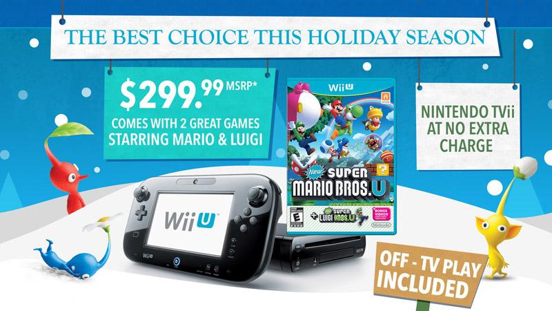 米任天堂、「Wii Uはホリデーシーズンにおける最良の選択」とする新たなインフォグラフィックを公開
