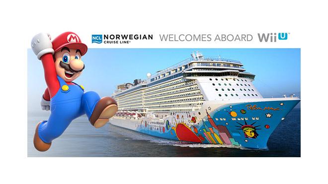 米任天堂、ノルウェージャン・クルーズラインとの提携を拡大。客船全てにWii Uを導入