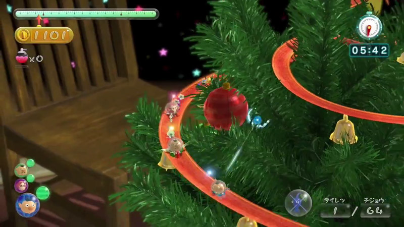 Wii U『ピクミン3』、ミッション追加ステージ第3弾の紹介トレーラー