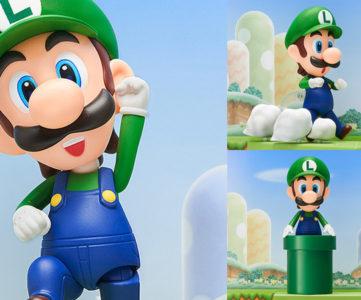 生誕30周年を迎えた、世界一有名なゲームキャラを兄に持つ緑の彼がねんどろいど化。『ねんどろいど ルイージ』が2014年に登場