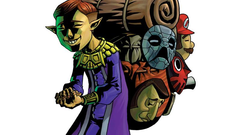 3DS『ゼルダの伝説 神々のトライフォース2』の「ムジュラの仮面」はリメイクへの布石か
