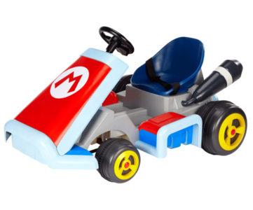 『マリオカート7』モデルの任天堂公式ライセンス電動乗用カート『Super Mario Kart ride-on』が海外で登場