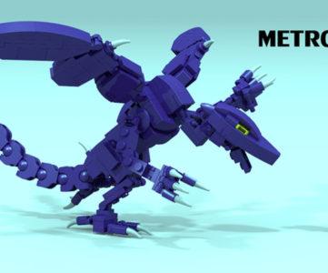 商品化リクエストサービス『LEGO CUUSOO』に『メトロイド』プロジェクトが提案