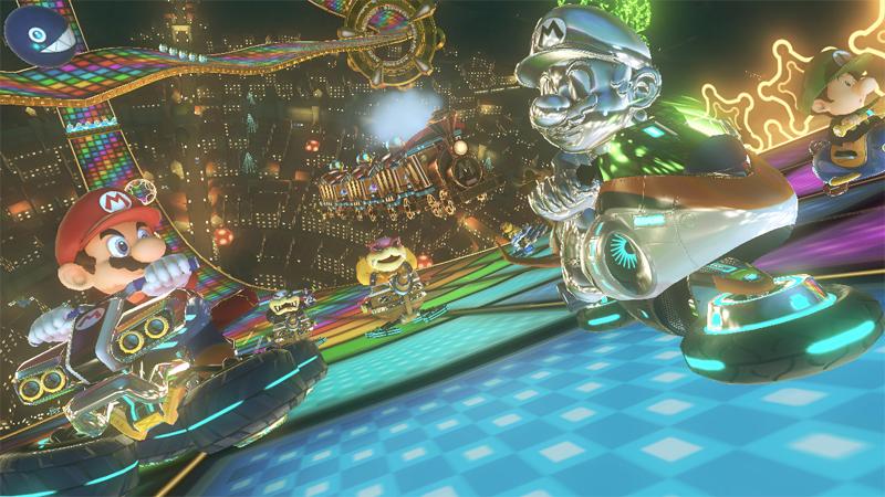 任天堂が『マリオカート8』で示すWiiUの描画性能「とても美しいゲームに仕上がった」