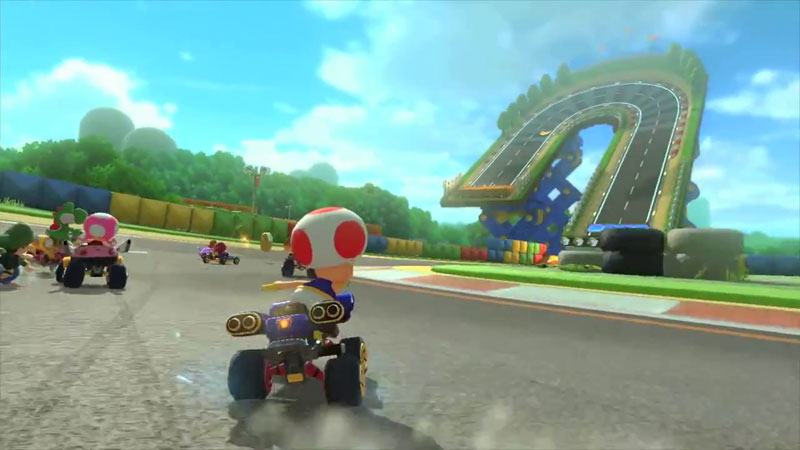 WiiU『マリオカート8』、リメイク収録されるレトロコースとオリジナル版の新旧比較映像 その2