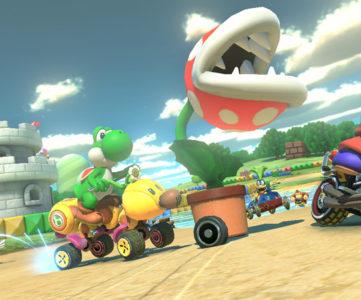 WiiU『マリオカート8』、リメイク収録されるレトロコースとオリジナル版の新旧比較映像 その3
