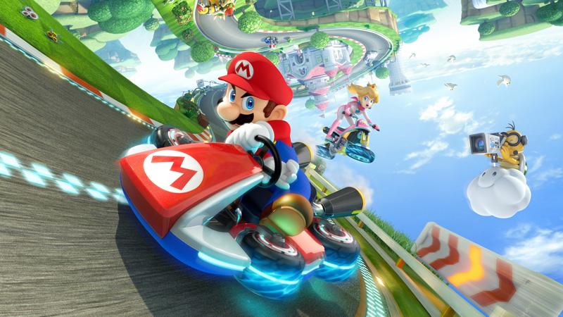 "WiiU『マリオカート8』、DL版に必要な空き容量は約5GB。Mii対応、""Game Chat""なる機能も"