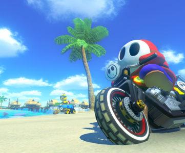 WiiU『マリオカート8』、リメイク収録されるレトロコースとオリジナル版との新旧比較映像