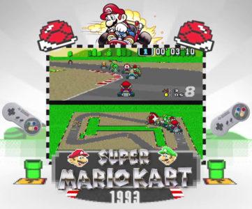 """デビュー作から最新作『8』へと繋がる、『マリオカート』の歴史を辿る映像""""History of Mario Kart"""""""