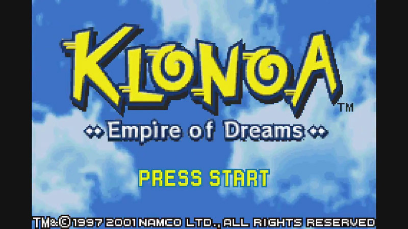 WiiU VC、GBA『風のクロノア ~夢見る帝国~』が欧州で配信開始