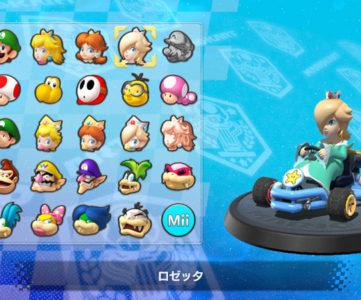 マリオカート8 | 操作キャラクター