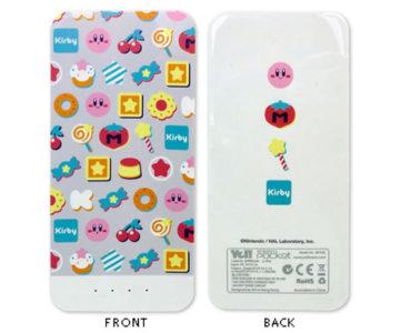『星のカービィ』デザインの大容量モバイルバッテリー(6000mAh)が登場。USB接続でスマホや携帯ゲーム機を充電可