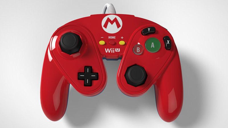 『スマブラ for WiiU』に完全対応するGCコン風コントローラ「Wired Fight Pad」が正式公開