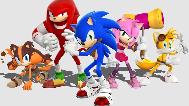 Sonic Boom (日本タイトル:ソニックトゥーン、Sonic Toon)