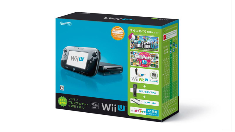 「WiiUすぐに遊べるファミリープレミアムセット」が生産終了。本体カラーは8GB/32GBともに「shiro」のみに