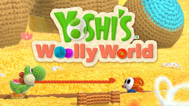 WiiU『ヨッシーウールワールド(Yoshi's Woolly World)』最新情報まとめ