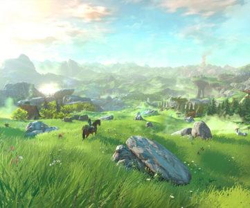 WiiU向け『ゼルダの伝説』最新作が遂に発表。新しいビジュアル、オープンワールド化