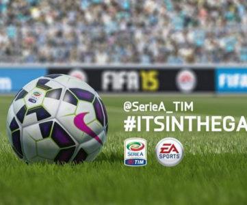EA、セリエAとパートナーシップを締結。所属全20クラブやリーグブランド等が『FIFA 15』にフルライセンスで収録