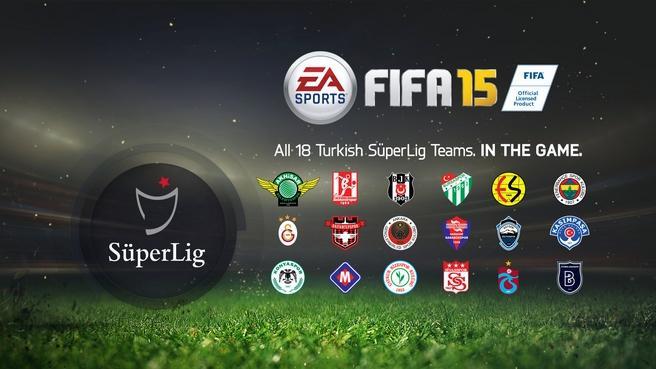 『FIFA 15』、トルコ1部リーグ「スュペル・リグ」を収録
