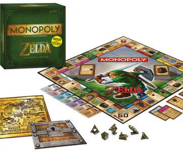 『ゼルダの伝説』や『ポケモン』をテーマにした『モノポリー』が海外で9月に発売