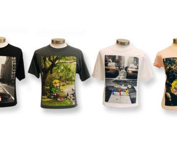 実際のニューヨーク市街にマリオやリンク、ピクミンらがデザインされたTシャツコレクション「Real NYC」、Nintendo World Storeで発売