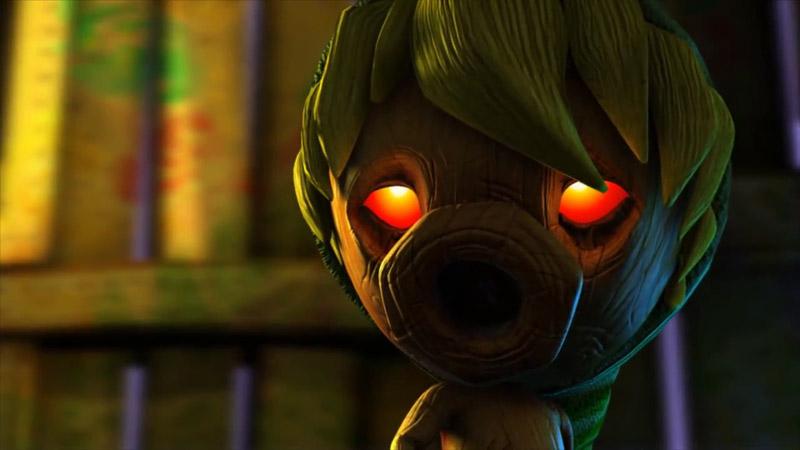 ファンメイドの『ゼルダの伝説 ムジュラの仮面』プロジェクト、新着映像が公開。3DS上に表示しているシーンも