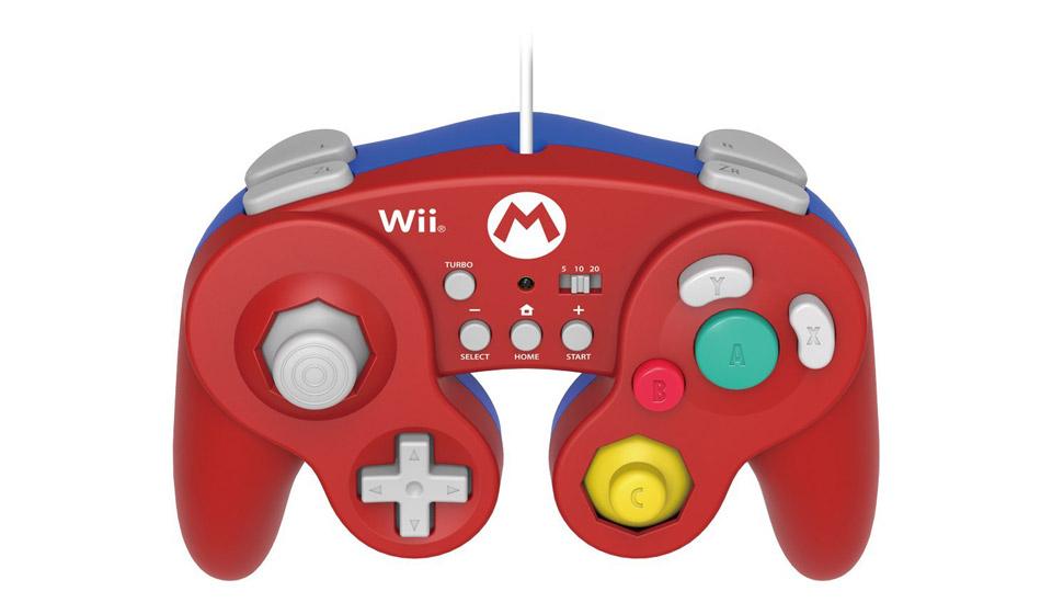 ホリ、ゲームキューブコントローラデザインの『スマブラ for WiiU』対応コントローラ『HORI Battle Pad Turbo for Wii U Mario / Luigi』を発売へ