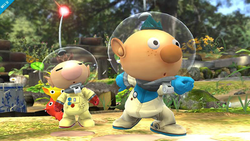 『スマブラ for 3DS/WiiU』、『ピクミン3』から主人公アルフが参戦。オリマーのバリエーションながら専用コールも用意