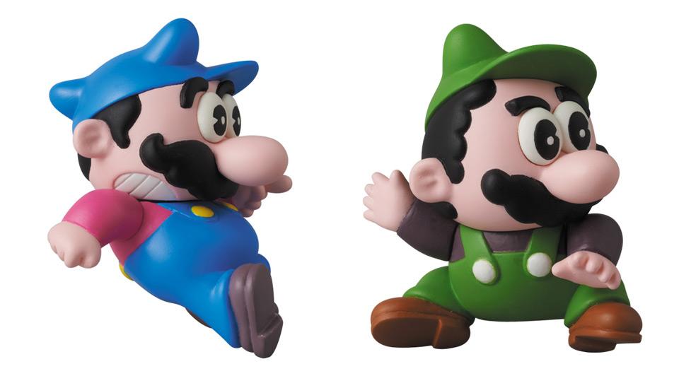 メディコム・トイのUDF任天堂キャラクターシリーズ第2弾『マリオブラザーズ(マリオ/ルイージ)』『ヨッシー』など6種、9月30日より販売開始
