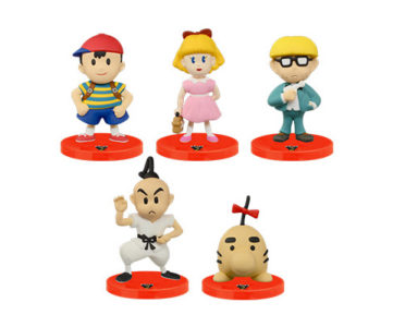 ネス、ポーラ、ジェフ、プー、そしてどせいさんも。10月発売の『MOTHER2 スタンドフィギュア』商品画像が公開に