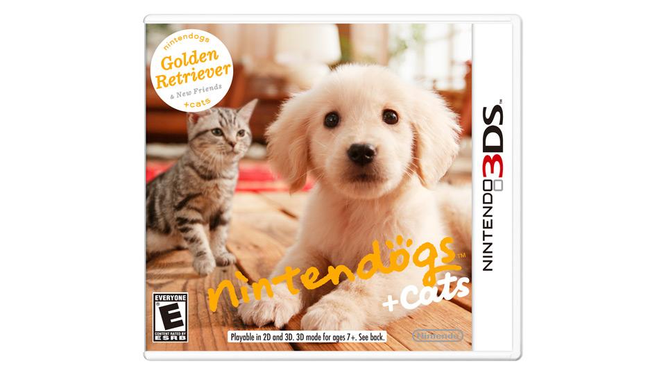 米任天堂、3DS『nintendogs + cats』DL版購入者に無料テーマを配布
