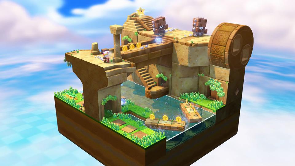任天堂、WiiU『進め!キノピオ隊長』でジャンプがない理由を説明「コンパクトな世界作りに注力するため」
