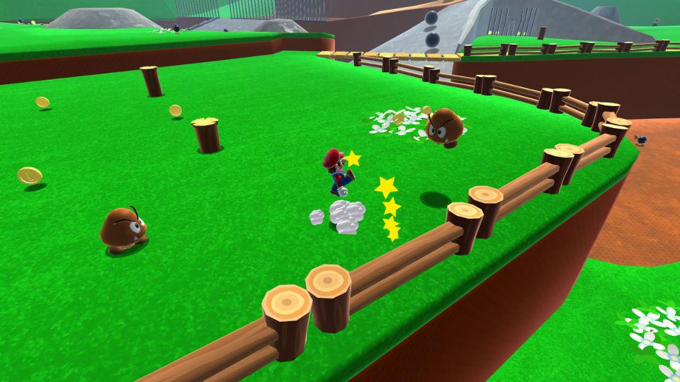 『スーパーマリオ64』の「ボムへいのせんじょう」が、UnityでHDリメイク。ブラウザ上でプレイ可能
