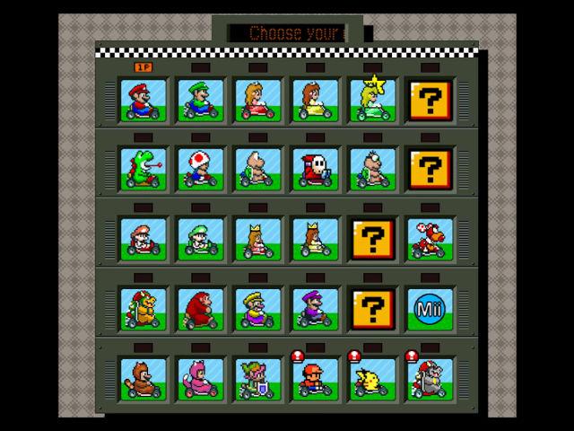カート sfc コース マリオ マリオカートシリーズのコース一覧