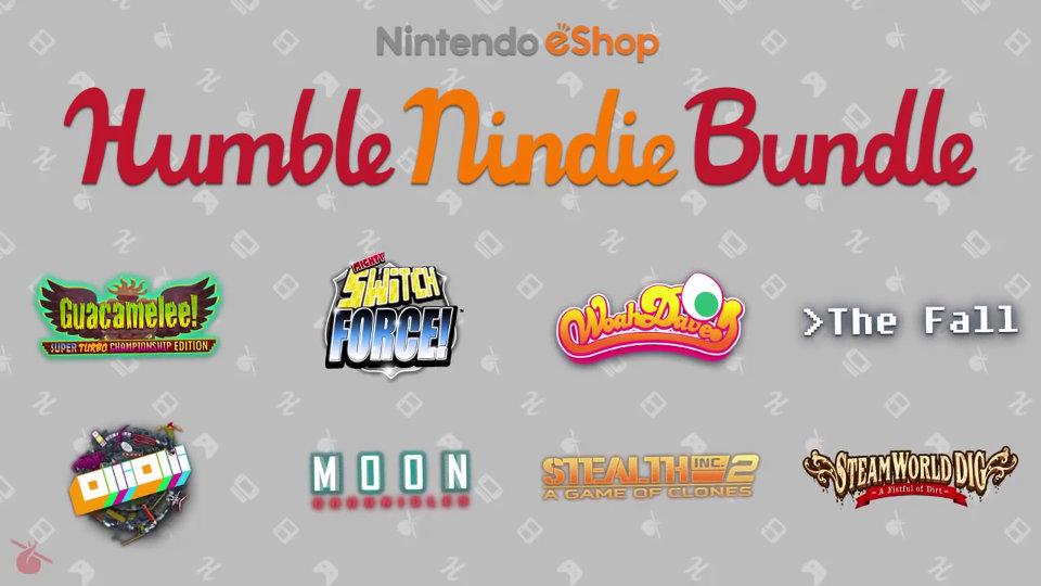 ゲームを買ってチャリティ支援、米任天堂がHumble Bundleと提携。WiiU/3DS eShop厳選タイトルをセット販売