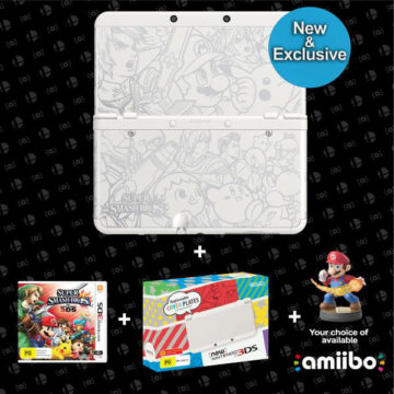 A SMASHING NEW NINTENDO 3DS BUNDLE