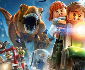 レゴ世界のユーモアとともに映画を追体験できる『LEGO ジュラシック・ワールド』がNintendo Switchに対応、3つのDLC収録、携帯モード対応