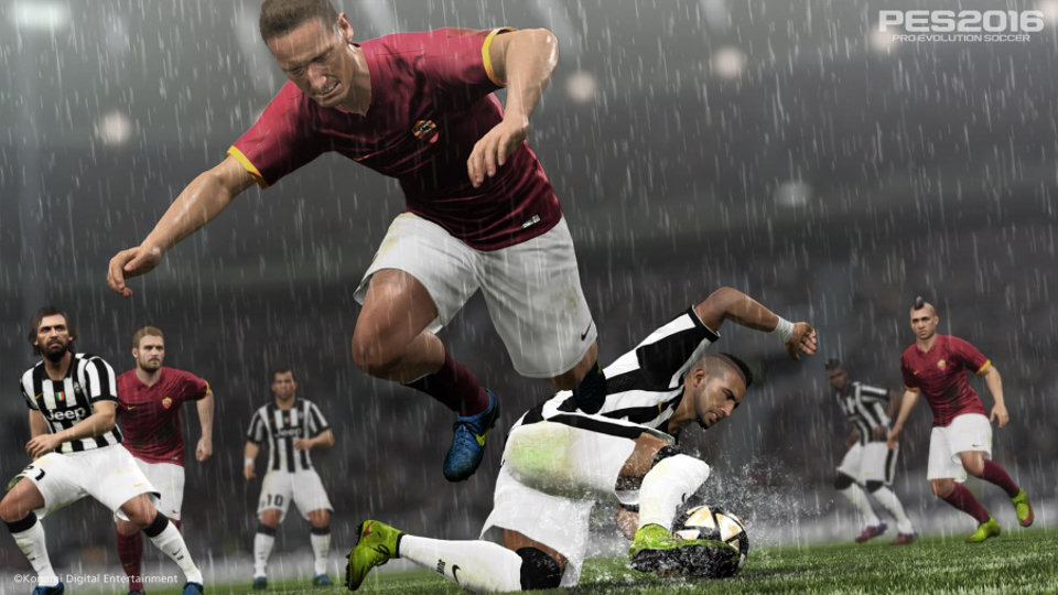 PC版『PES 2016』、PS4/Xbox One版ともPS3/Xbox 360版とも異なる独自仕様に
