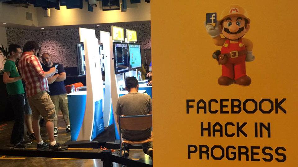 """FacebookスタッフによるWiiU『スーパーマリオメーカー』の新コース制作ハッカソン、選ばれたのは研究開発部門の""""Ship Love"""""""