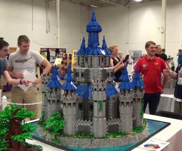 """2年半の歳月をかけて制作された""""LEGO ハイラル城(ゼルダの伝説)"""""""