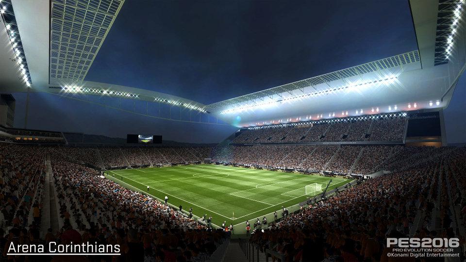 『ウイイレ2016』、1部リーグ所属の全20クラブを含む24のブラジルクラブライセンス