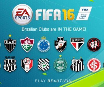 『FIFA 16』は16の主要ブラジルクラブチームを収録