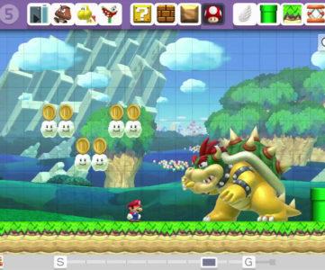 WiiU『スーパーマリオメーカー』の挙動はスキンを問わず『NewマリオU』に統一。任天堂・手塚氏が理由を説明