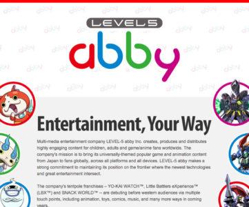 レベルファイブ、電通と新会社「LEVEL-5 abby Inc.」を設立。海外のクロスメディア展開を推進
