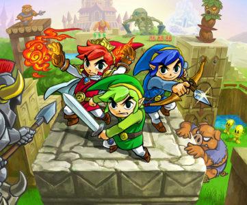 3DS『ゼルダの伝説 トライフォース3銃士』、3DS版『時オカ』『ムジュラ』等のグレッゾと任天堂の共同開発
