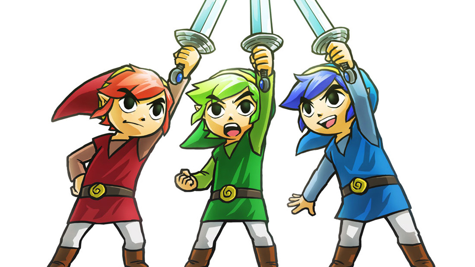 3DS『ゼルダの伝説 トライフォース3銃士』のオンラインプレイは同一地域内に限定。他国とのマッチングは無し