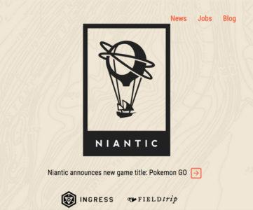 ポケモンとGoogle、任天堂の3社、Nianticへ最大3000万ドルを出資。『ポケモンGO』開発や『Ingress』拡充に活用