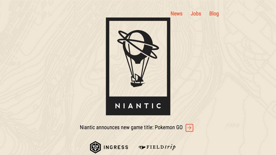 『ポケモンGO』開発中のNiantic、フジテレビなどから500万ドルを調達