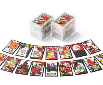 任天堂から『マリオ花札 黒・赤』が発売。クラブニンテンドー交換グッズとは異なる全札新デザイン